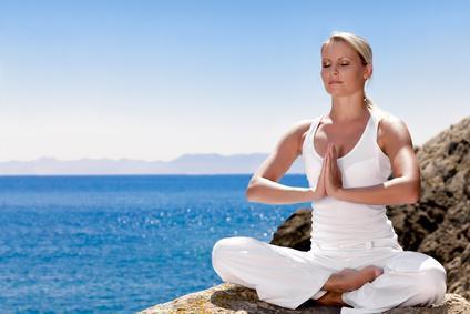 Kanufahren und Yoga Übungen
