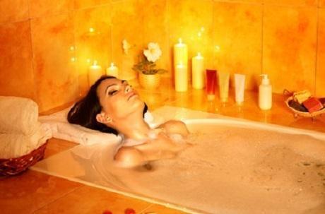 Wellness in der Badewanne