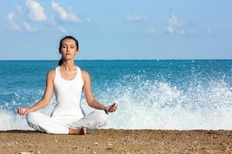 Entspannung durch die richtige Atemtechnik.