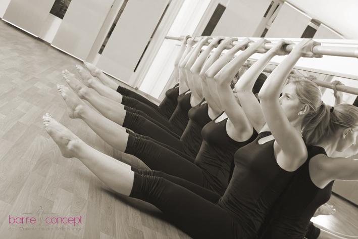 Fitness an der Ballettstange: ein Rundum-Training für jedermann