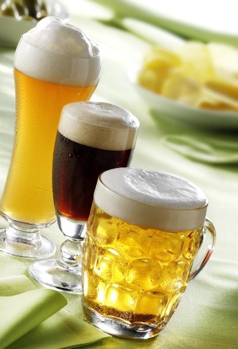 Unterschiedliche Biersorten