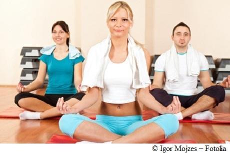 Yoga ist auch für Anfänger kein Problem