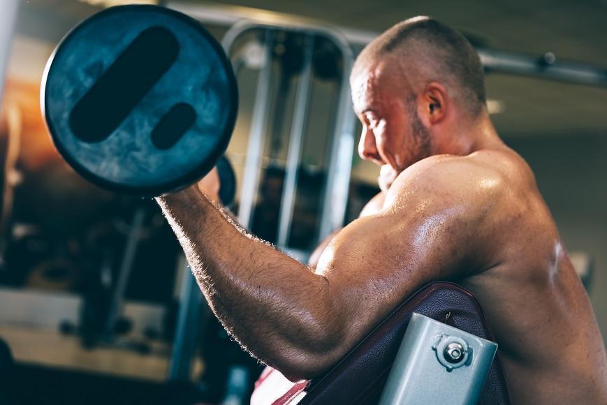 Kraftsportler brauchen verzweigtkettige Aminosäuren