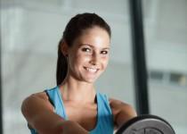 Vorwärtsheben mit einer Gewichtsscheibe